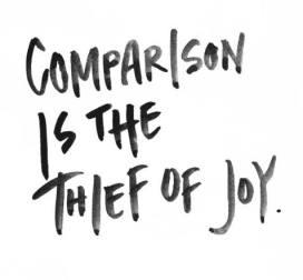 comparison joy