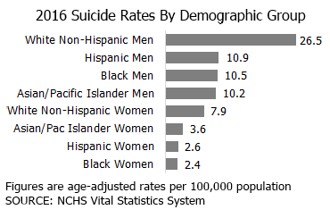 suicide demographics